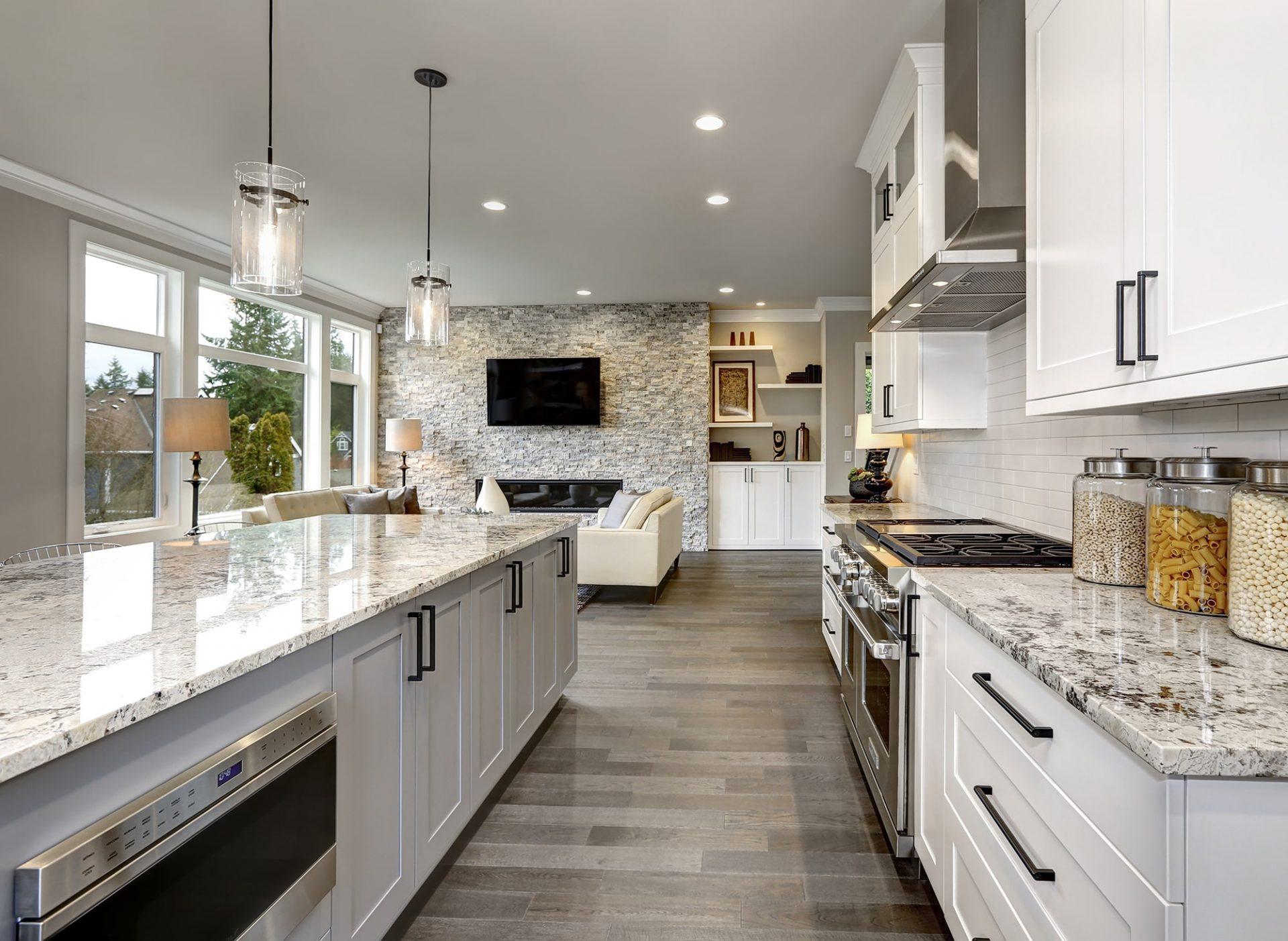 Manufactured housing kitchen